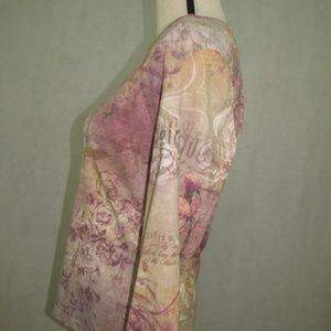 Vintage Suzie Tops - Vintage Suzie Top Long Sleeve Size L Multi Color
